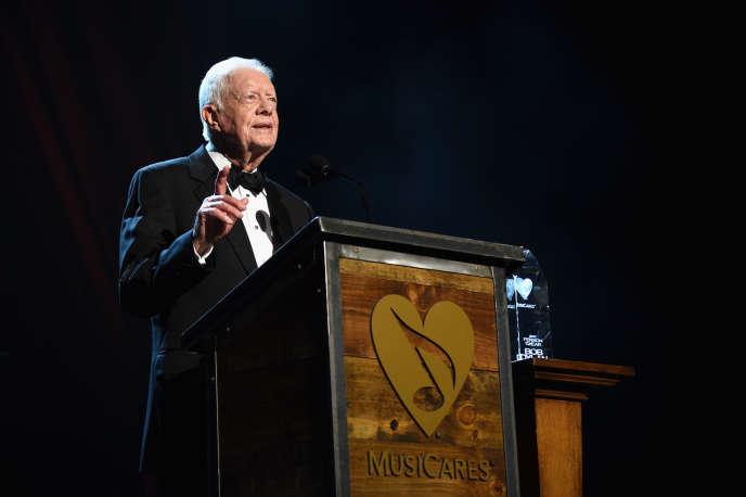 Jimmy Carter, en février 2015 à Los Angeles.