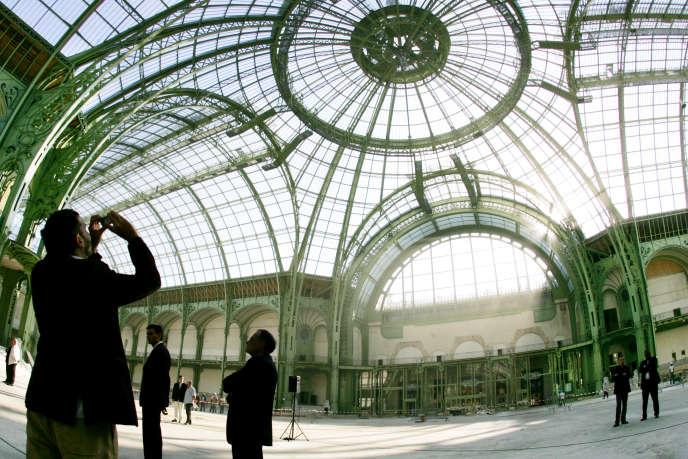 La nef du Grand Palais, à Paris.