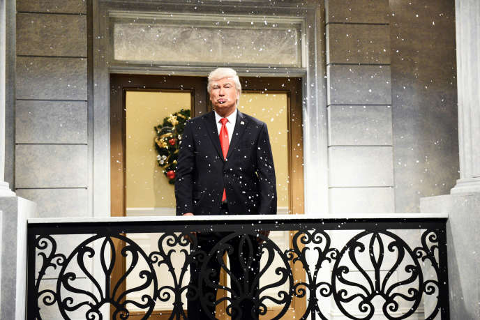 Alec Baldwin incarne Donald Trump dans l'émission « Saturday Night Live» depuis 2016.