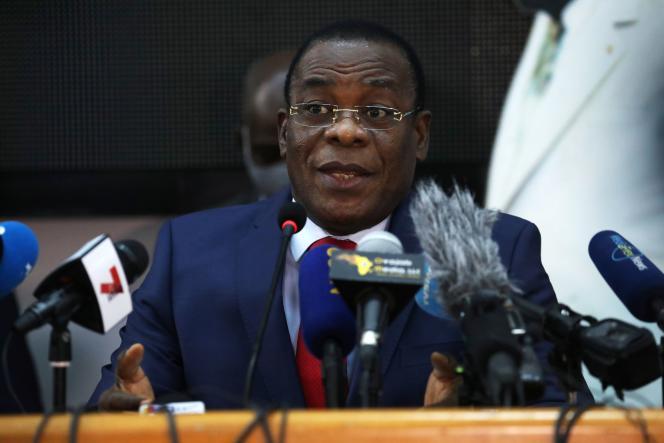 Pascal Affi N'Guessan, candidat à l'élection présidentielle ivoirienne.