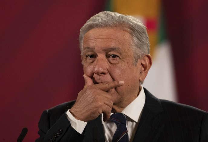 « C'est déplorable qu'un ancien ministre de la défense soit arrêté et accusé de trafic de drogue », a réagi Andrés Manuel López Obrador.