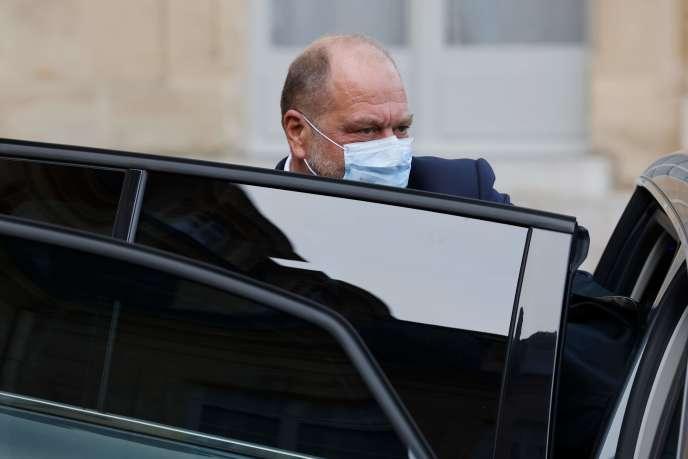 Le ministre de la justice, Eric Dupond-Moretti, au palais de l'Elysée à Paris, le 14 octobre.