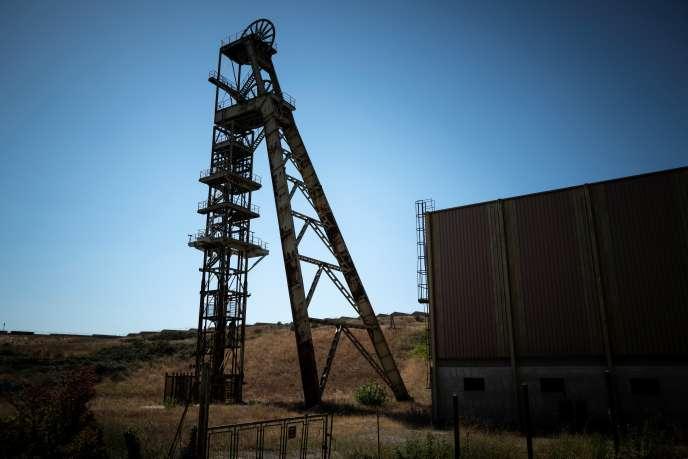 La mine d'or désormais fermée de Salsigne, près deVillanière (Aude), dans la vallée de l'Orbiel, le 10 septembre.
