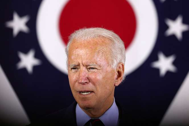 Joe Biden lors d'un meeting à Cincinnati, Ohio, le 12 octobre 2020.