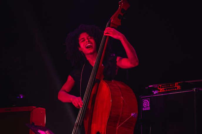 La contrebassiste Sélène Saint-Aimé en concert jeudi 15 octobre au festival Nancy Jazz Pulsations.