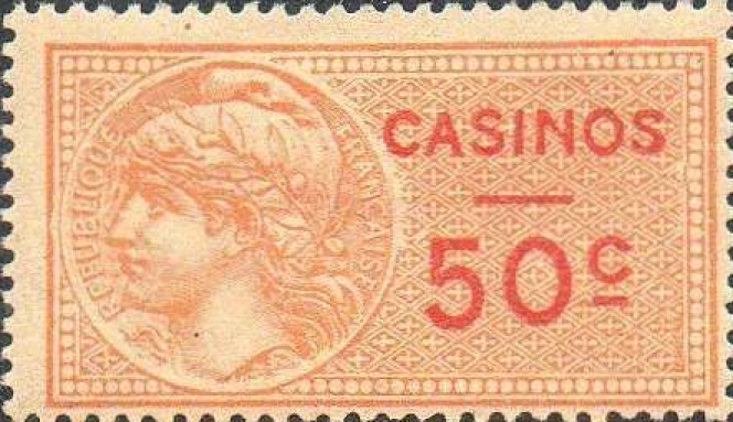 Timbre fiscal« casinos».