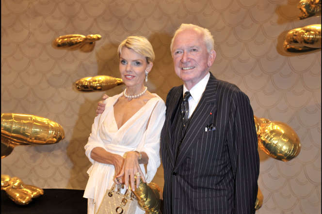 Jean-Paul Guerlain et Christina Kragh Michelsen au Musée Rodin, en 2008.