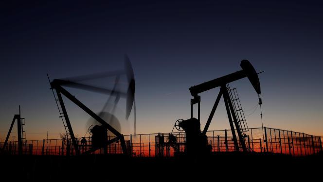 Gisement de pétrole exploité à Vaudoy-en-Brie (Seine-et-Marne), en novembre 2018.