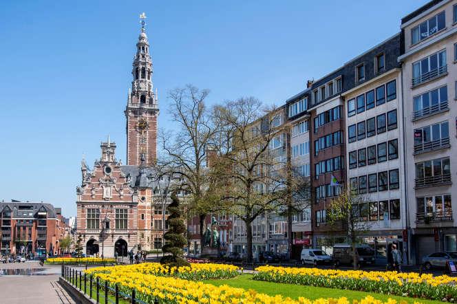 L'université flamande de Louvain (KUL), en Belgique, en avril 2019.