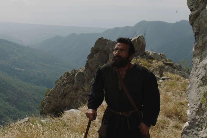 Alberto Testone dans le rôle du peintre Michel-Ange.