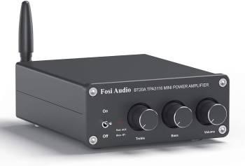 Un mini-ampli musclé et Bluetooth Fosi Audio BT20A
