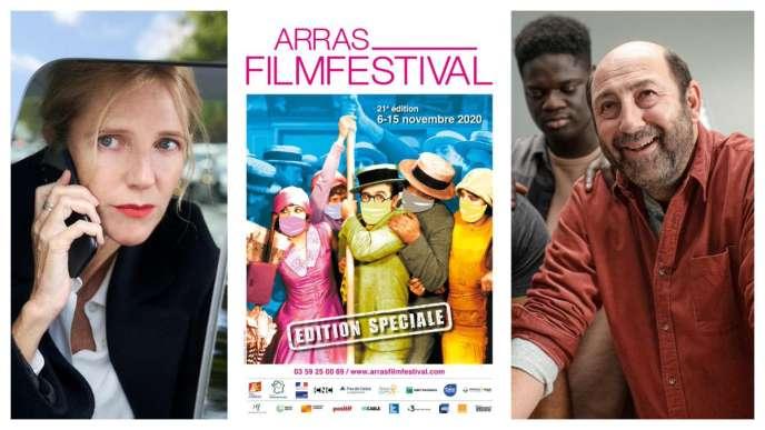 Visuel de la 21e édition du Arras Film Festival, prévue du 6 au 15 novembre 2020, diffusé sur le compte Twitter de la manifestation.