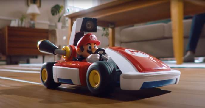 Le kart de Mario fait 20 cm de long, soit 18 fois moins qu'une Fiat 500.