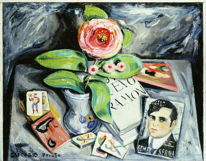 « Hommage à Gomez de la Serna », de Gregorio Prieto (1956).