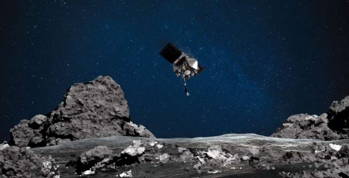 La sonde Osiris-Rex, le 11 août 2020.