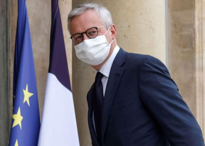 Bruno Le Maire, à Paris, le 19 octobre 2020.