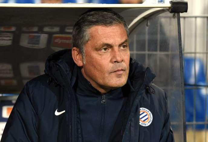 Titulaire du diplôme d'entraîneur, Bruno Martini a assuré, aux côtés de Pascal Baills, un court intérim à la tête de l'équipe de Montpellier.