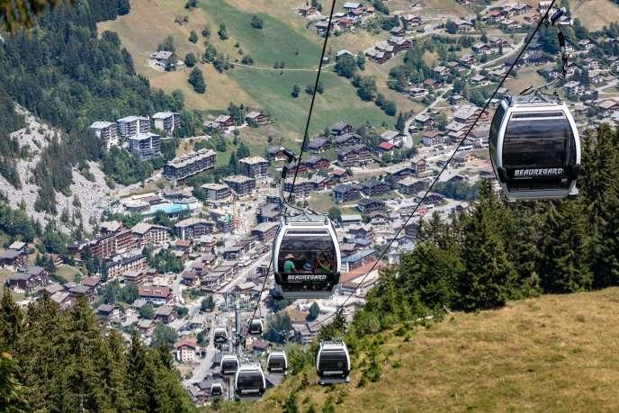 La Clusaz (Haute-Savoie), en août 2018.