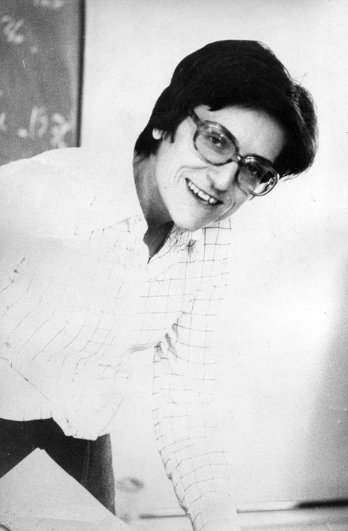Aimée Moutet, en avril 1972.