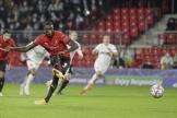 Serhou Guirassy a ouvert la marqué, mardi face à Krasnodar. Et est devenu le premier Rennais buteur en Ligue des champions.