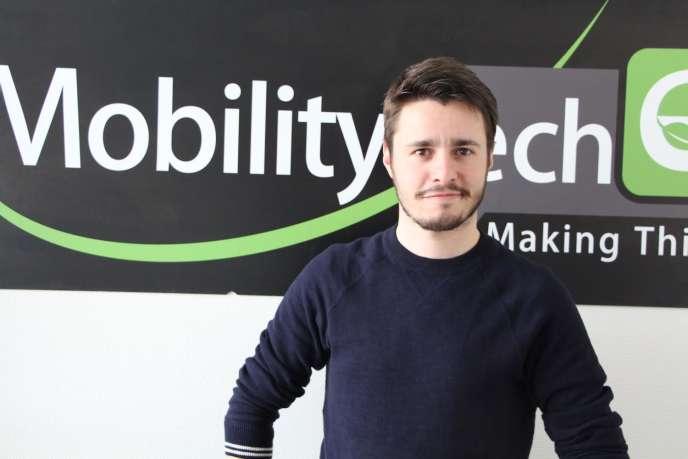 Alexandre Fournier, directeur marketing et communication de Mobility Tech Green.