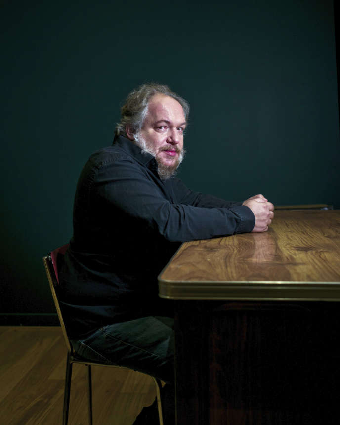 L'écrivain Mathias Enard, photo non datée.