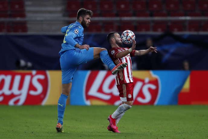 Mathieu Valbuena a joué un rôle important dans la victoire de l'Olympiakos contre l'OM.