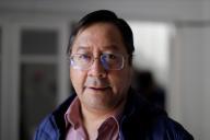 Luis Arce, le président élu de la Bolivie, mardi 20 octobre, à La Paz.