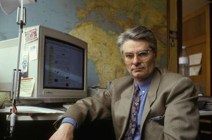 Jean Schalit, le 5 mai 1991, à Paris.