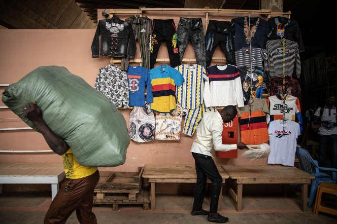 Le marché Rood Woko, à Ouagadougou, lors de sa réouverture, le 20avril 2020.