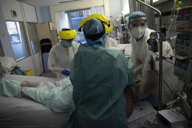 Dans un hôpital à Liège, le 21 octobre.