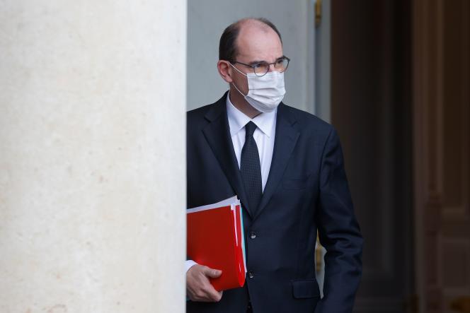 Le premier ministre, Jean Castex, au palais de l'Elysée, à Paris, le 21 octobre.