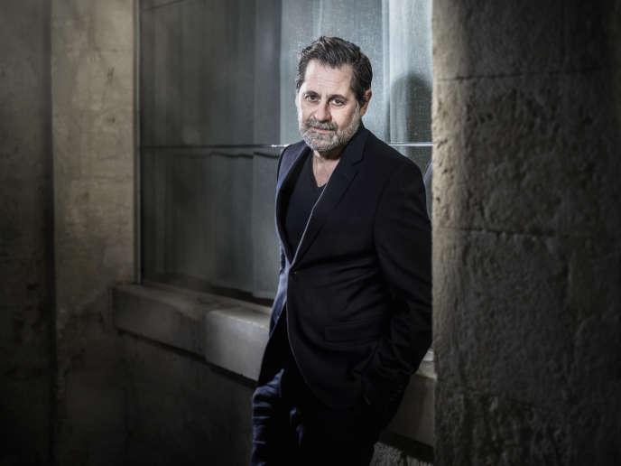 Olivier Py, directeur du Festival d'Avignon, au cloître Saint-Louis, à Avignon, le 16 octobre.