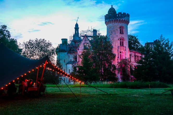 Le château de la Mothe-Chandeniers (Vienne).