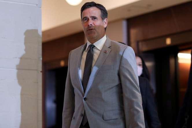 Le directeur américain du renseignement John Ratcliffe.