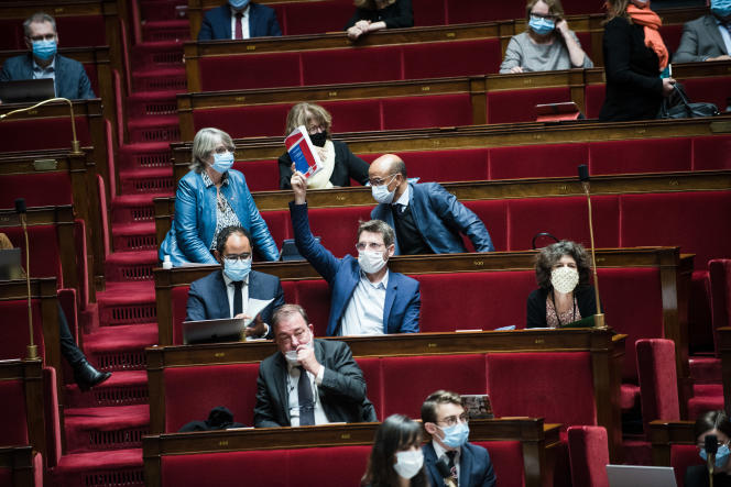 A l'Assemblée nationale, le 8 octobre.
