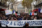 La « marche contre l'islamophobie», à Paris, le 10 novembre 2019.