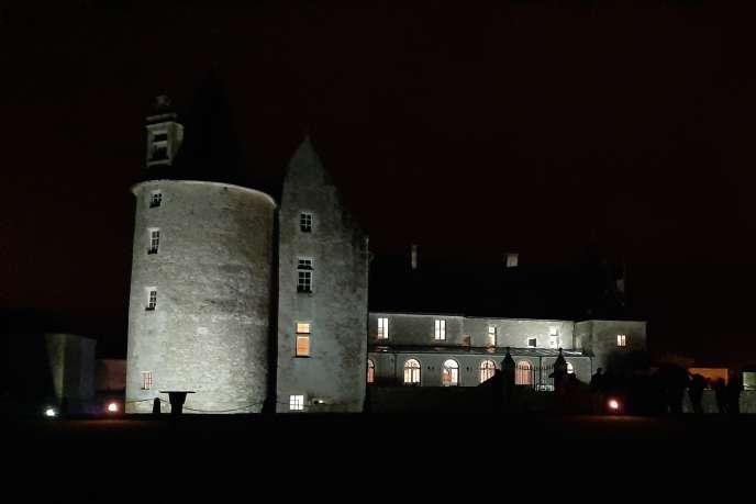 Le château de Saveilles en Charente.