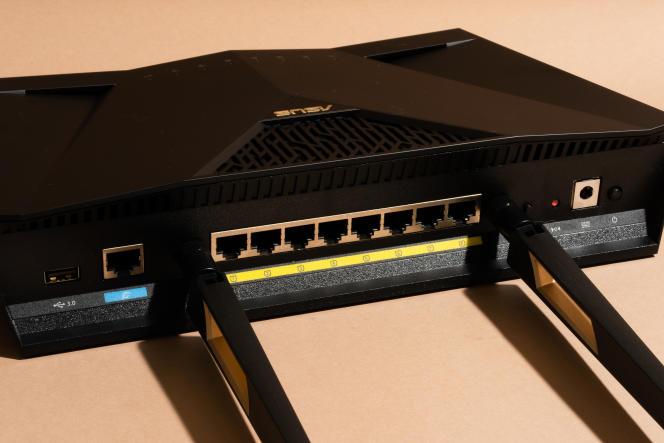 Le RT-AX88U dispose de ports Ethernet supplémentaires pour connecter des périphériques filaires plus nombreux dans votre salon.