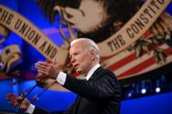 Le candidat démocrate à la présidentielle, Joe Biden, lors du dernier débat face à Donald Trump, à Nashville (Tennessee), le 22 octobre.