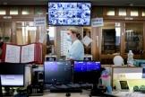 Unité de soins intensifs pour les patients Covid au Centre hospitalier universitaire de Liège, le 22 octobre.