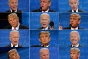 Lors du dernier débat télévisé entre les deux candidats, le 22 octobre.