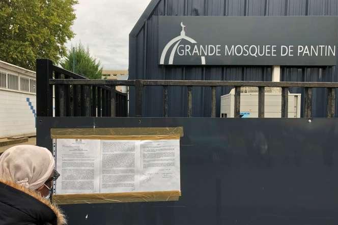 A la grande mosquée de Pantin, le 20 octobre.