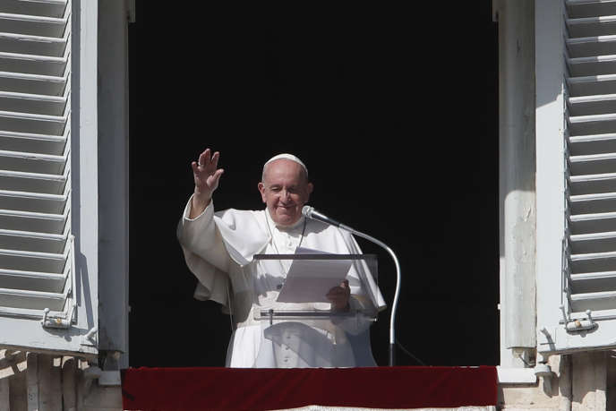 Le pape François, au Vatican, le 25 octobre 2020