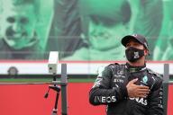 Lewis Hamilton à Portimao, le 25 octobre.
