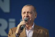 Le président turc Recep Tayyip Erdogan, le 25 octobre 2020, à Malatya (Turquie).