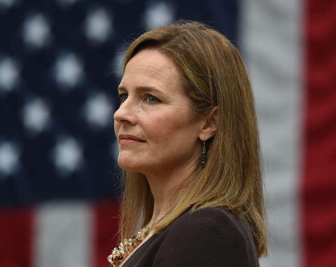 La juge Amy Coney Barrett à Washington le 26 septembre.