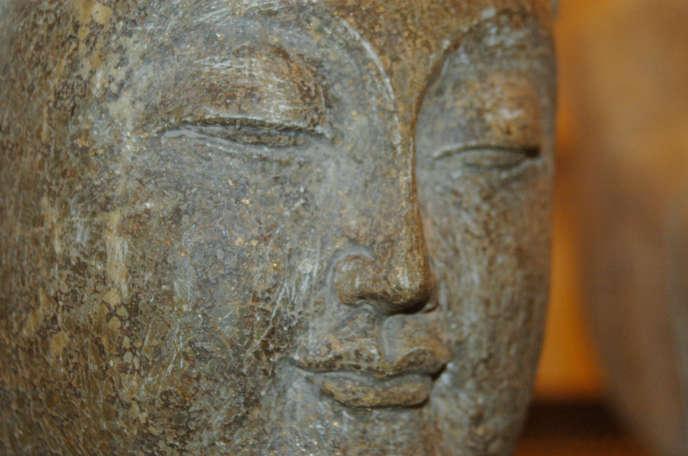 Le sourire d'un Bouddha.