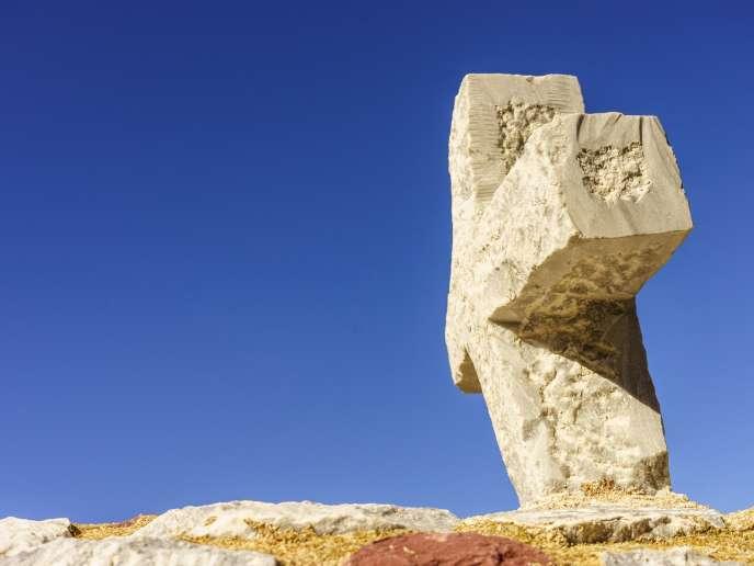 Une tombe chrétienne médiévale.