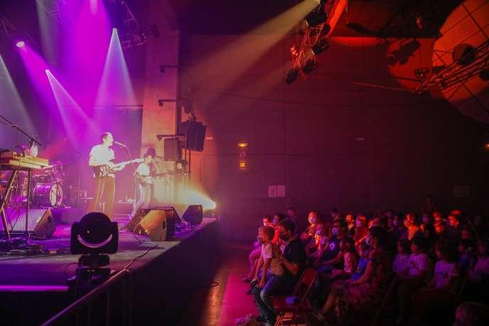 Concert de Thousand au Grand Mix, à Tourcoing (Nord), le 19 septembre.